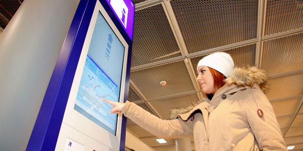 Frankfurt information kiosks