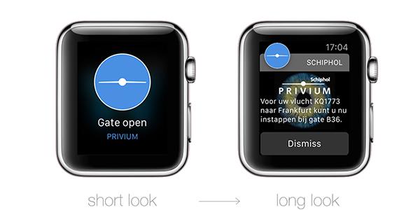 Schiphol iWatch app