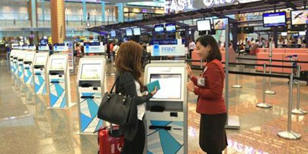 Changi Airport Kiosks