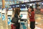 Changi kiosks