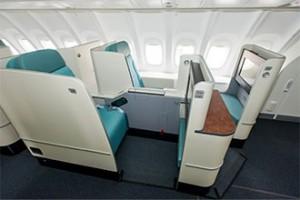 Korean Air - First Class suites