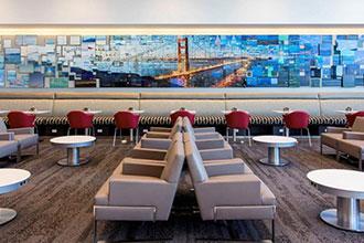 Delta's lavish new Sky Club lounge opens at SFO