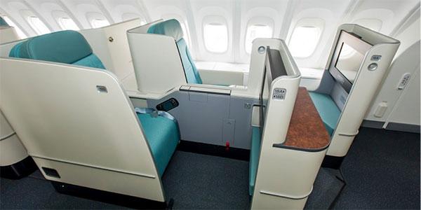 Korean Air prestige suite
