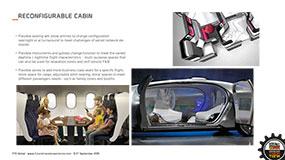 think tank cabin design passenger comfort