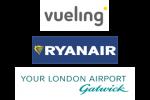 Vueling - RYANAIR - Gatwick