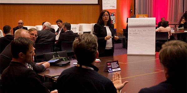 A working group led by Liliana Petrova, JetBlue's Director Customer Experience Programs