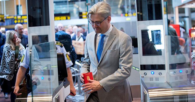 Copenhagen Airport embraces self-service with new automated passport control e-gates