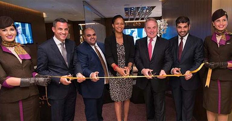 Etihad Airways opens new premium lounge at LAX