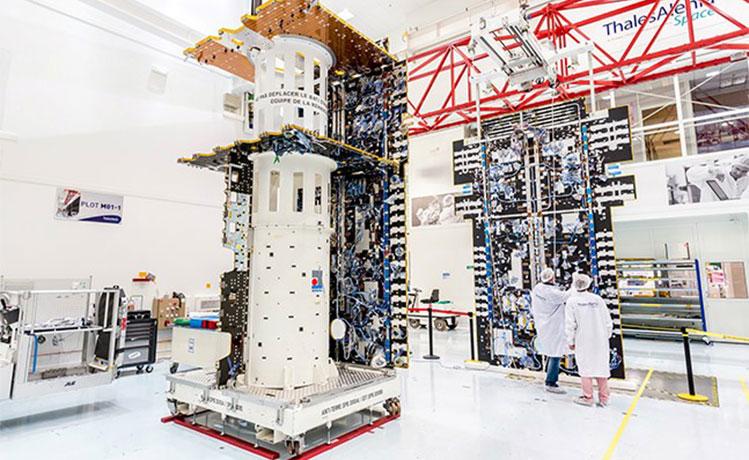 Satellite construction brings European Aviation Network closer