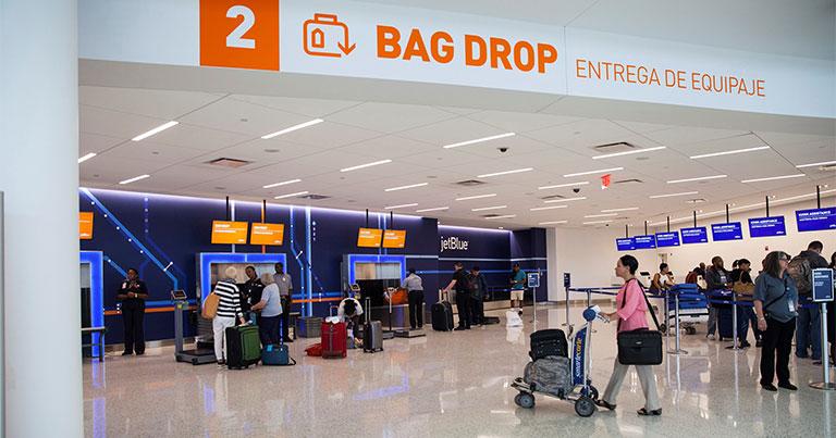 JetBlue exploring permanent electronic bag tags