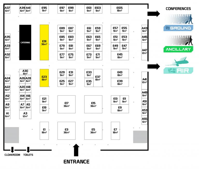 FTE Europe 2017 floor-plan