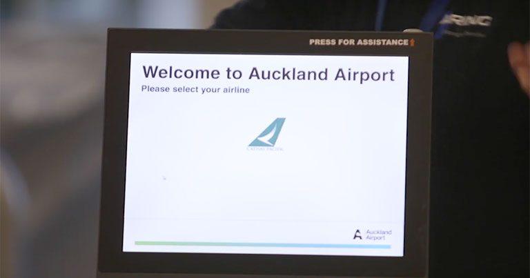 45 mobile self-service kiosks go live as Auckland Airport prepares for growth