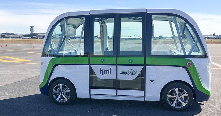Christchurch Airport to start driverless passenger shuttle trial