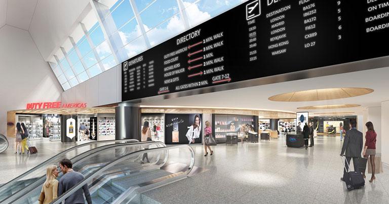 British Airways unveils plans for new-look JFK Terminal 7