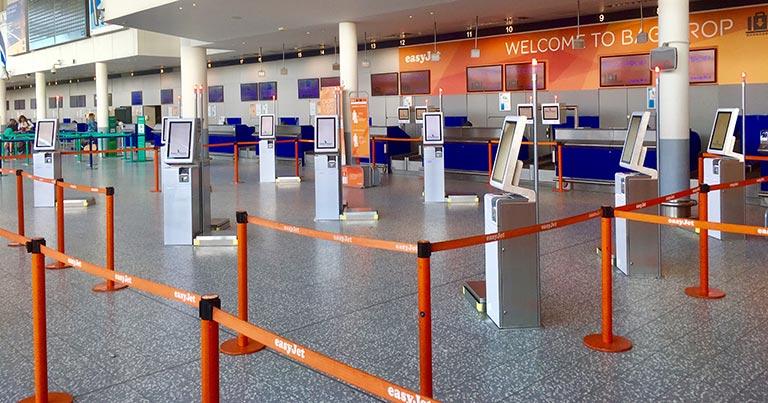 easyJet trialling self-service bag drop at Bristol Airport