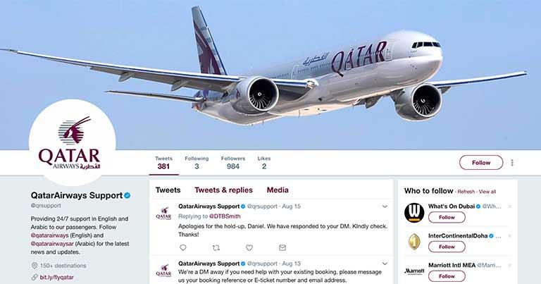 Qatar Airways launches 24/7 customer support Twitter handle