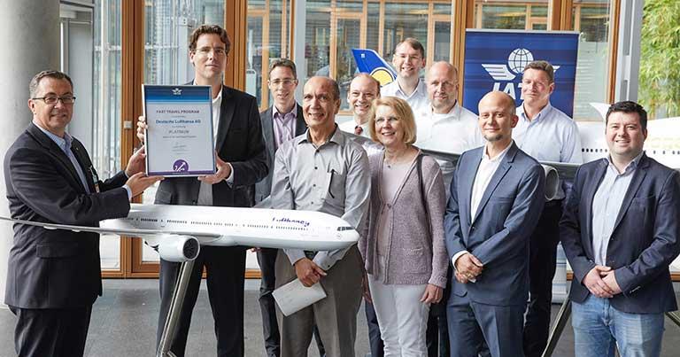 Lufthansa receives IATA Fast Travel Platinum Award for self-service and digital excellence
