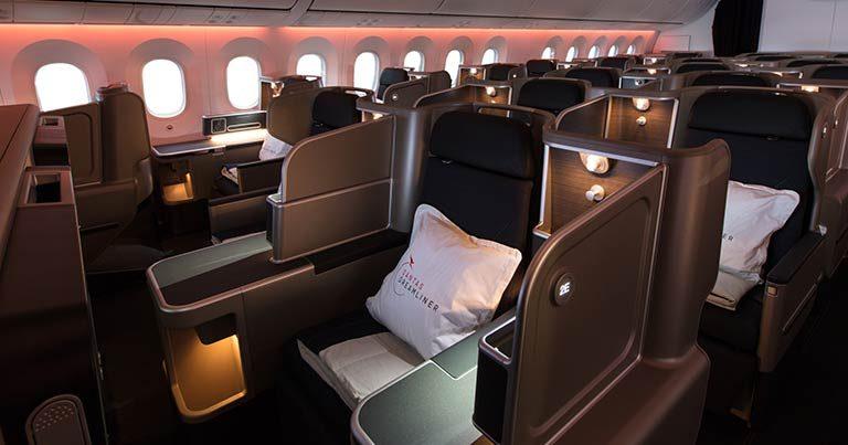 Qantas unveils landmark first Boeing 787-9 Dreamliner
