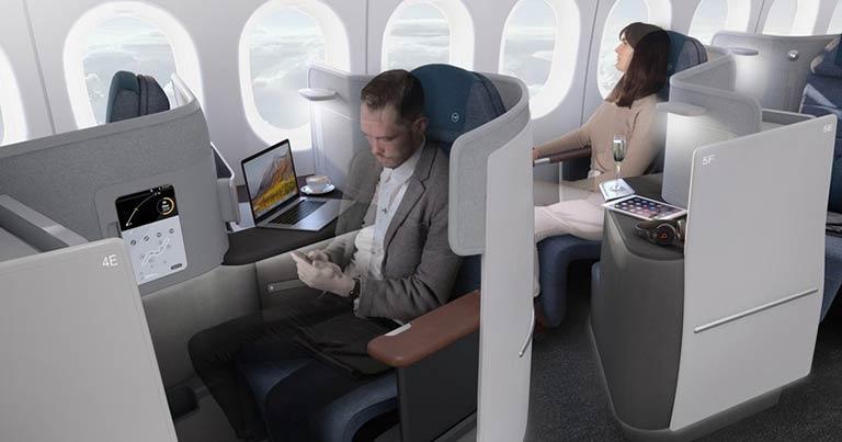 Lufthansa reveals new Boeing 777-9 Business Class concept