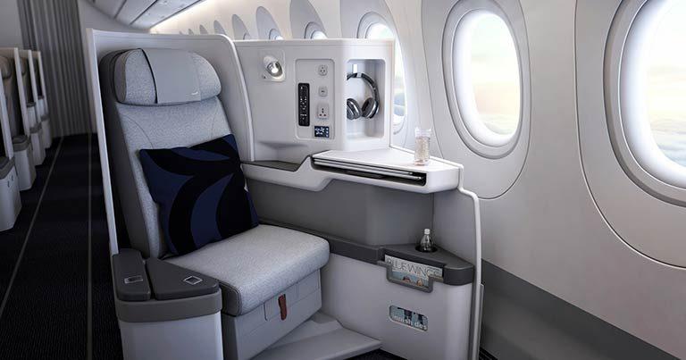 Finnair reveals Nordic-inspired business class enhancements