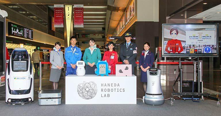 Haneda Robotics Lab selects seven robots for trials at HND