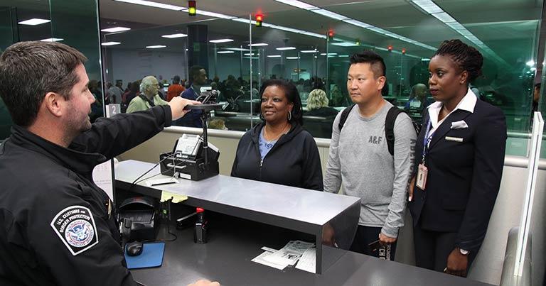 U S Cbp Pilots Facial Recognition Technology At Aruba Airport