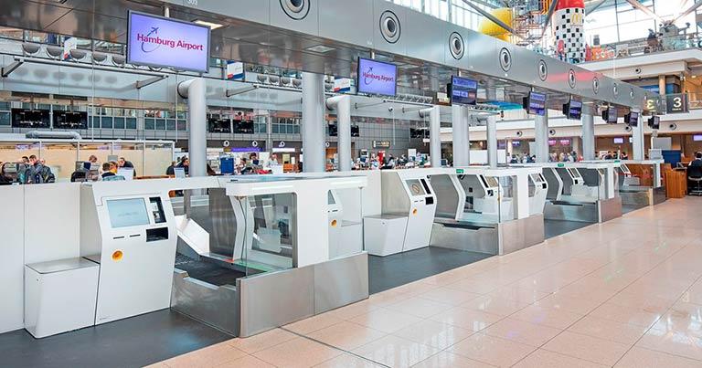 Hamburg Airport celebrates new self-service bag drop system