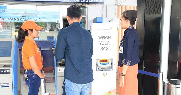 Self-service bag drop being tested at Soekarno-Hatta International Airport