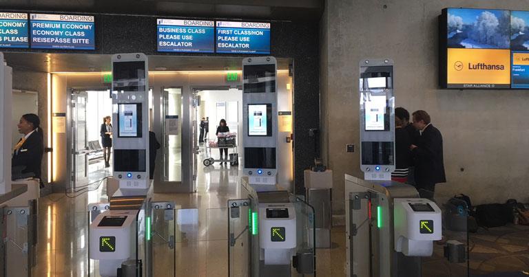 Lufthansa pilots biometric boarding technology at LAX
