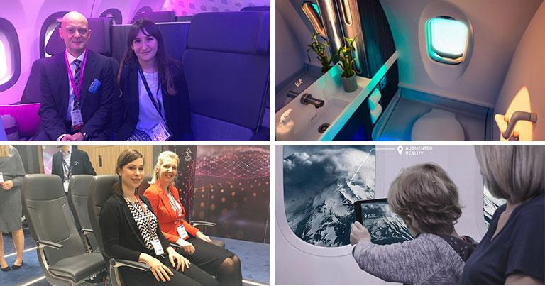 Airbus, Boeing, Bombardier, Acro, Recaro and Collins Aerospace explore the future cabin experience