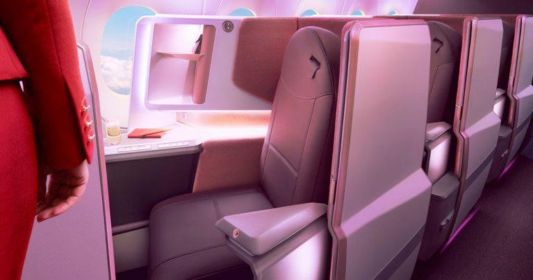 Virgin Atlantic unveils A350 interiors including new business class suite