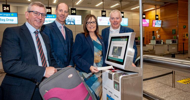 Cork Airport installs self-service bag tag and bag drop kiosks