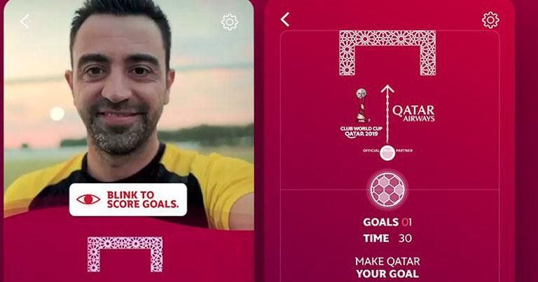 Qatar Airways launches AR football game on Facebook