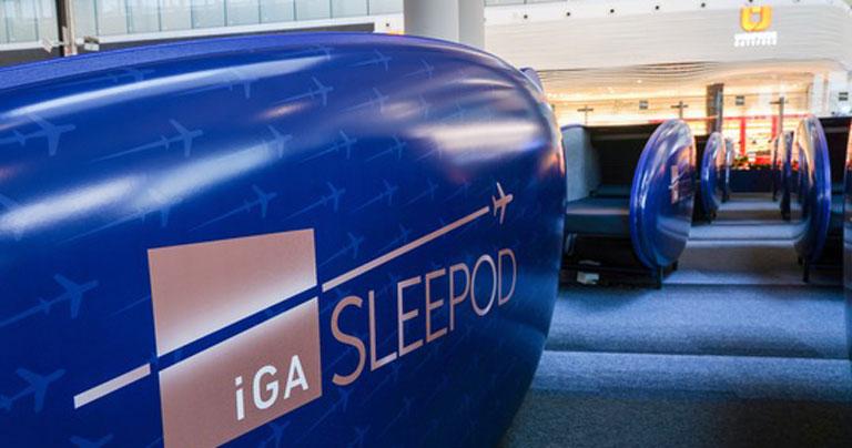 Aeroporto de Istambul instala cápsulas para dormir no terminal do aeroporto