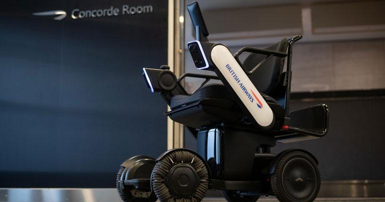 British Airways trials autonomous electric wheelchairs at JFK