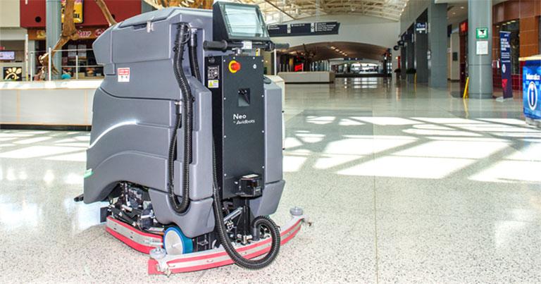 CVG Airport deploys Avidbots Neo floor-scrubbing robots