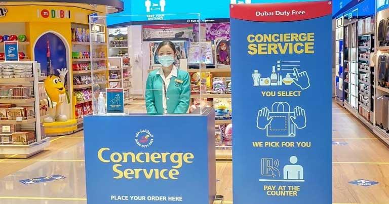 Dubai Duty Free adds concierge service as it re-opens shops at DXB