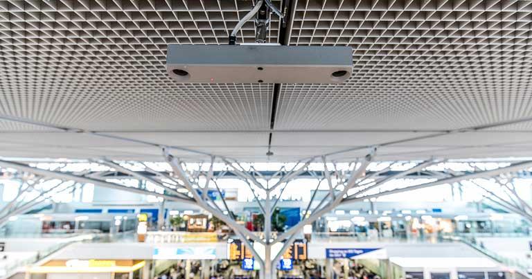 Stuttgart Airport utilises 3D sensors to manage social distancing