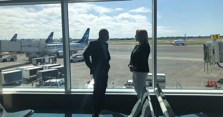 YVR to pilot pre-flight COVID-19 tests for select WestJet flights