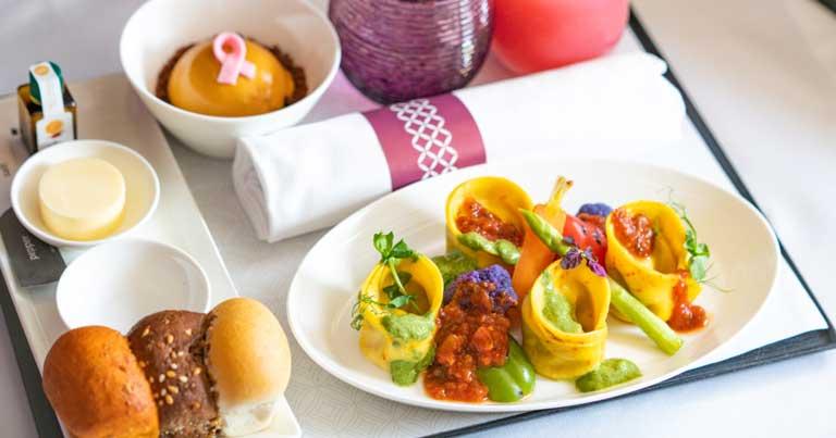 Qatar Airways introduces vegan inflight meal range for premium customers