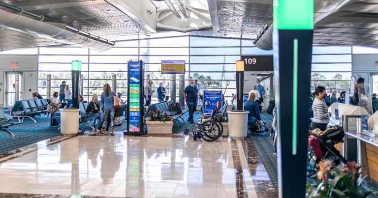 Orlando International Airport trials crowd monitoring system