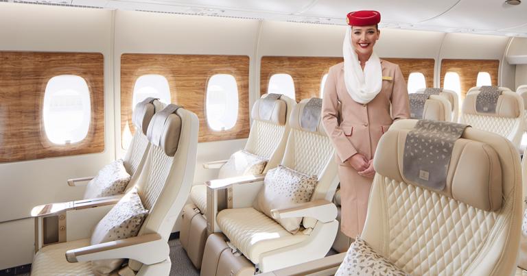 Emirates unveils new premium economy cabin experience