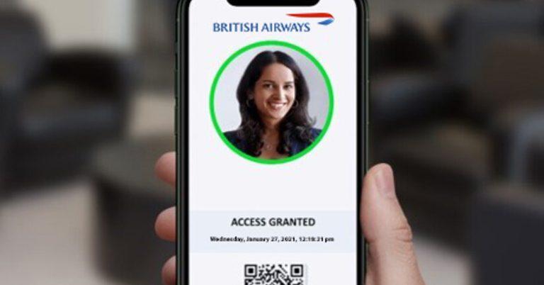 British Airways to trial VeriFLY digital health passport
