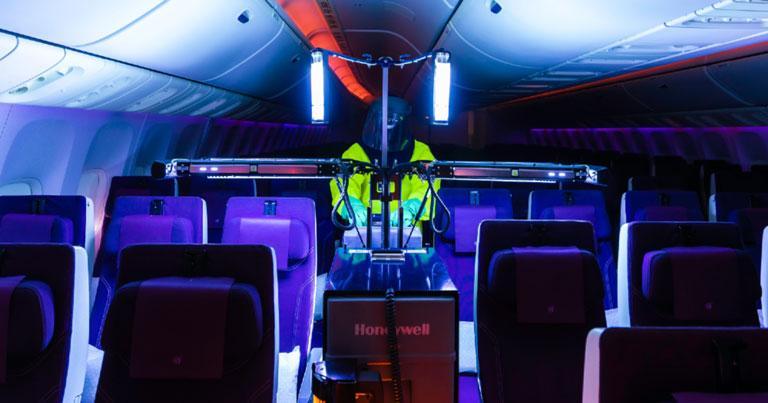 Qatar Airways deploys latest version of Honeywell's UV cabin disinfection technology