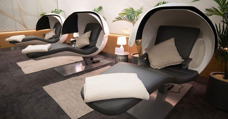 British Airways introduces sleep pods in First Lounge at LHR