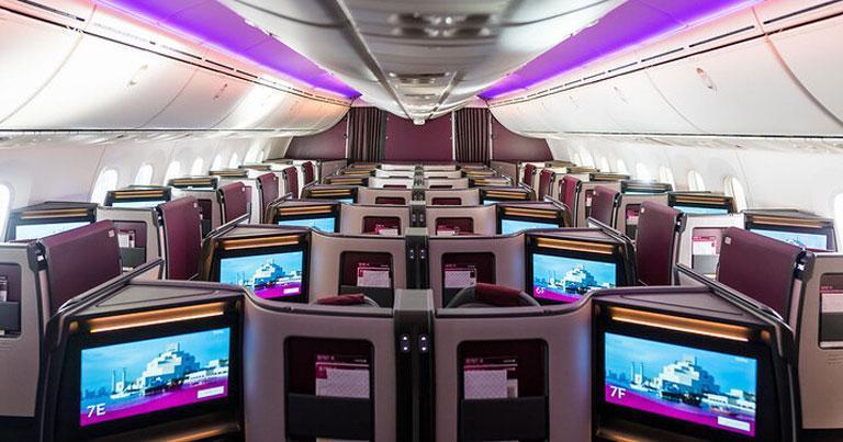 Qatar Airways unveils new business class suite on Boeing 787-9 Dreamliner