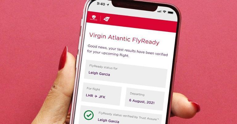 Virgin Atlantic and Delta introduce new digital health management tool