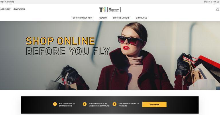 JFKIAT rolls out digital e-commerce platform at JFK T4